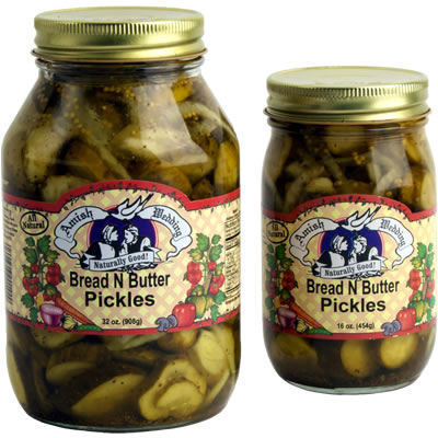 Amish Wedding Foods.Bread And Butter Pickles Amish Wedding Foods