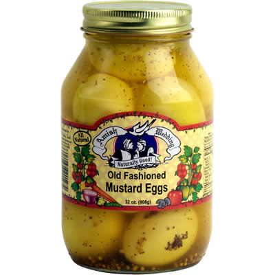 Amish Wedding Foods.Mustard Eggs Old Fashioned Amish Wedding Foods