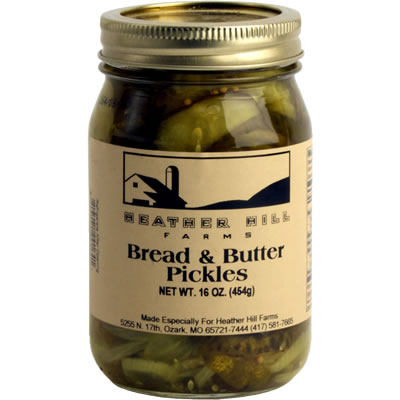 Bread and Butter Pickles | Heather Hill Farms