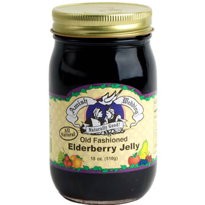 Elderberry Jelly - Old Fashioned (Amish Wedding Foods) - Heather Hill ...