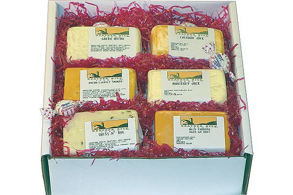 Cheese Gift Box - Cheese Sampler #1622 | Heather Hill Farms