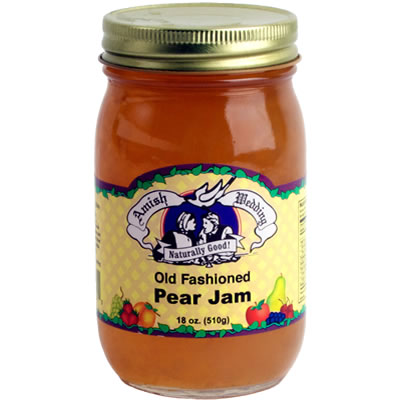 Pear jam old fashioned amish wedding foods heather for Blackberry pear jam